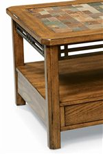 Metal Accent Trim on Tables