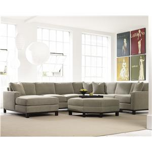 Precedent Urban Planning 4 Piece Sectional With Chaise