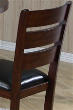 3 Slat Ladderback Design