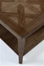 Hand Inlaid Parquet Tops