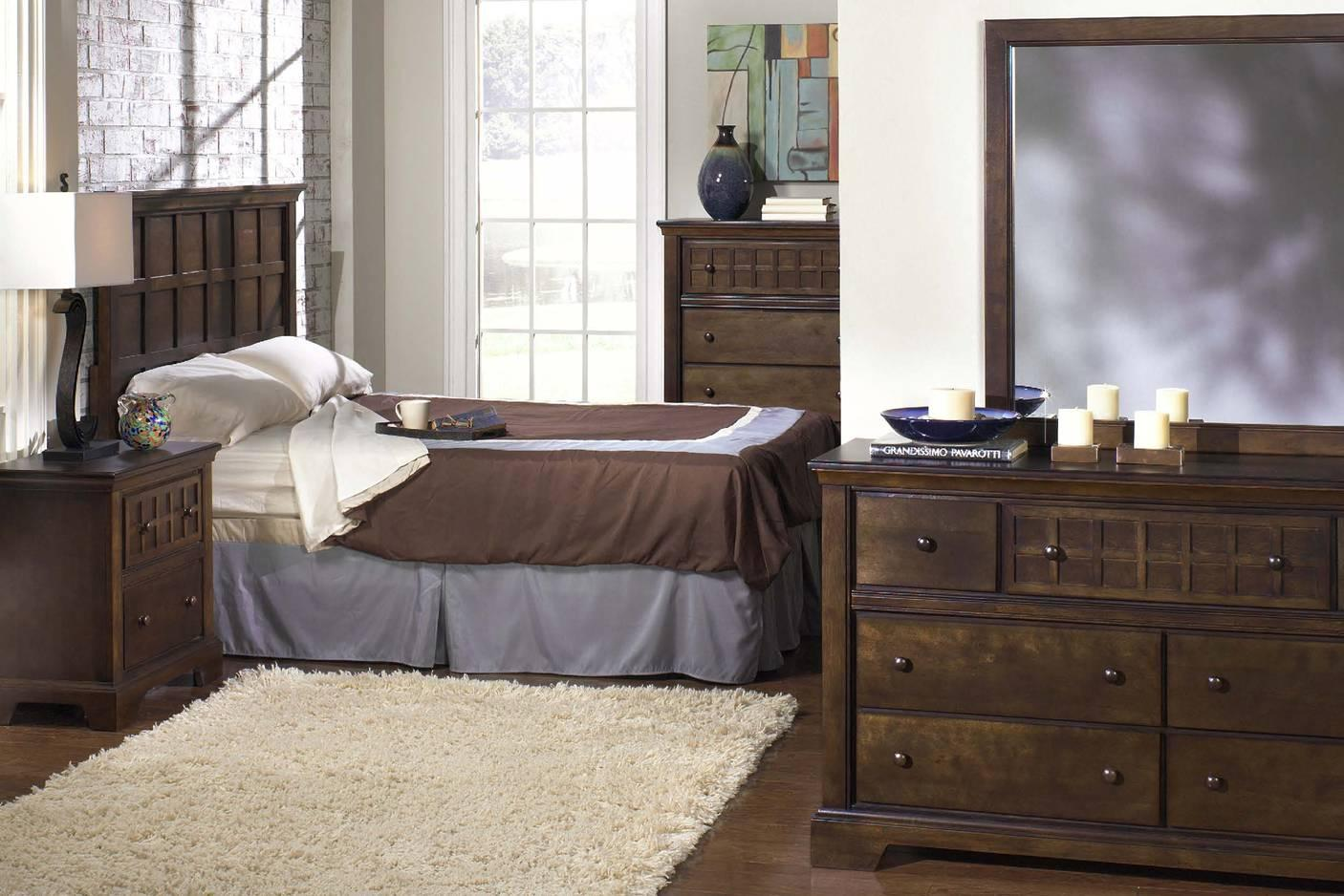 Progressive Furniture Casual Traditions King Bedroom Group  - Item Number: P107 K Group 1