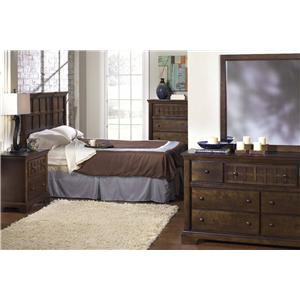 Progressive Furniture Casual Traditions Full/Double and Queen Bedroom Group