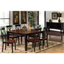 Progressive Furniture Cosmo Casual Dining Room Group - Item Number: P809 Casual Dining Room Group 1