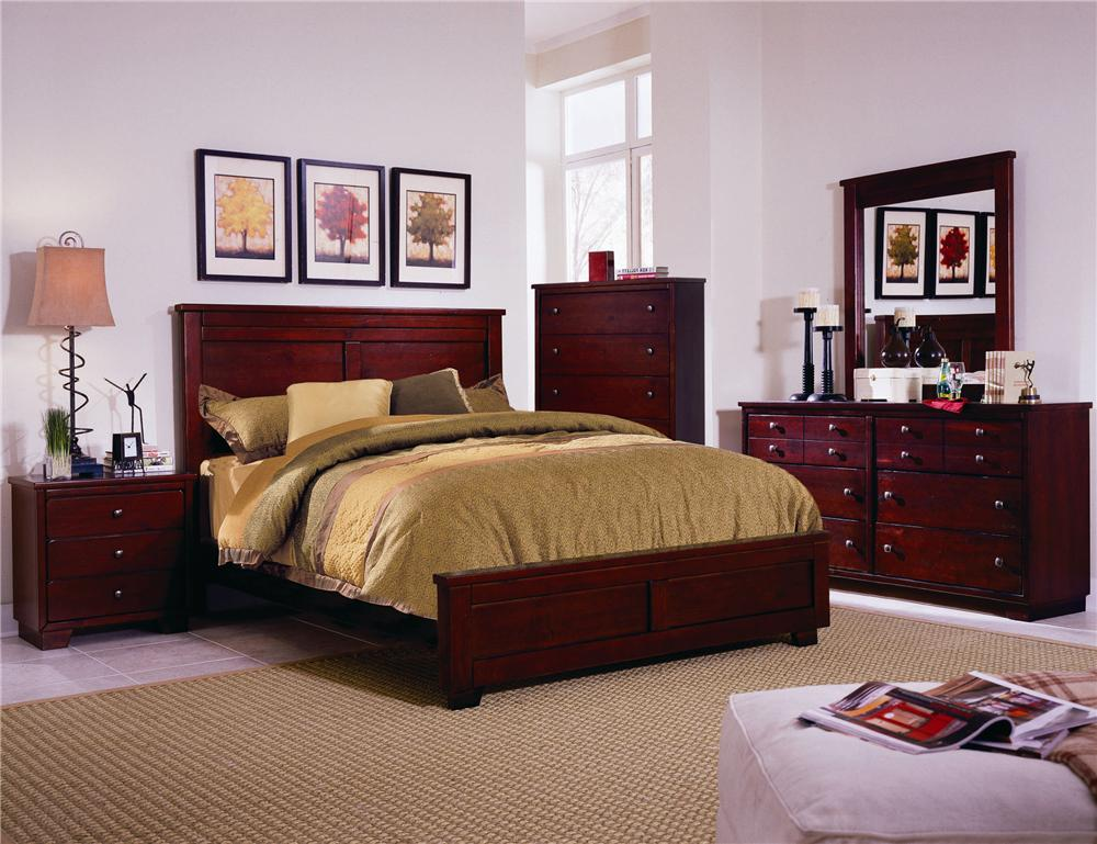 Progressive Furniture Diego Queen Bedroom Group - Item Number: 61662 Q Bedroom Group 2
