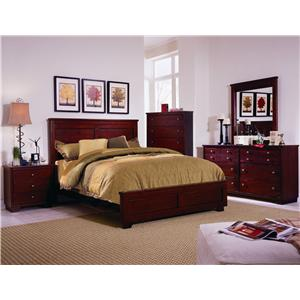 Progressive Furniture Diego California King Bedroom Group