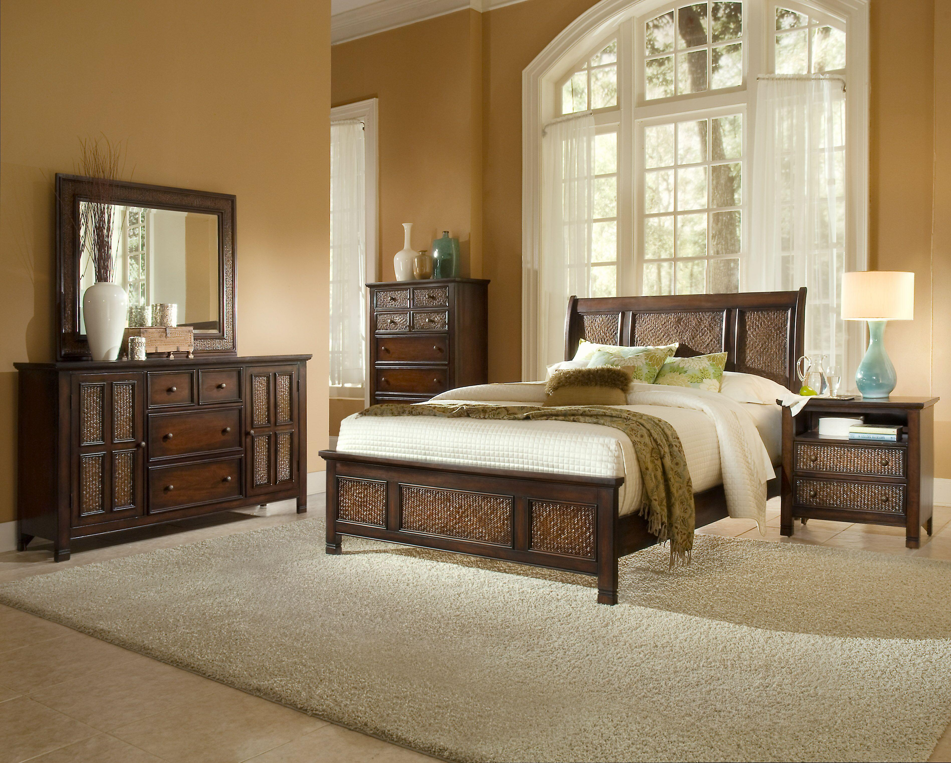 Progressive Furniture Kingston Isle King Bedroom Group - Item Number: P195 K Bedroom Group 1