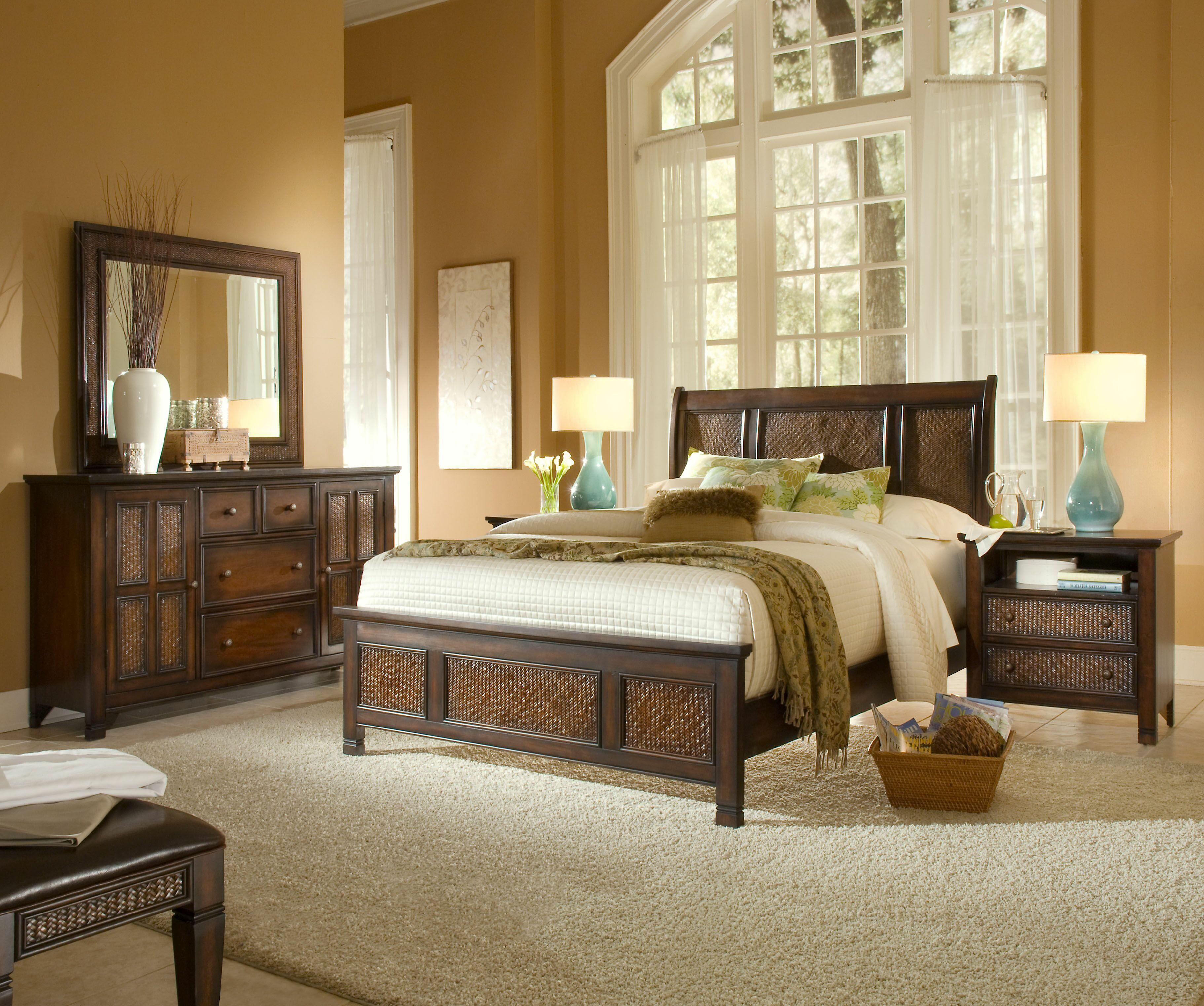 Progressive Furniture Kingston Isle King Bedroom Group 3 - Item Number: P195 K Bedroom Group 3