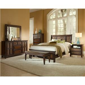 Progressive Furniture Kingston Isle Queen Bedroom Group 2