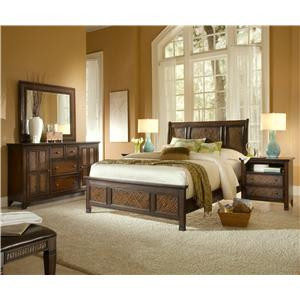 Progressive Furniture Kingston Isle Queen Bedroom Group 3