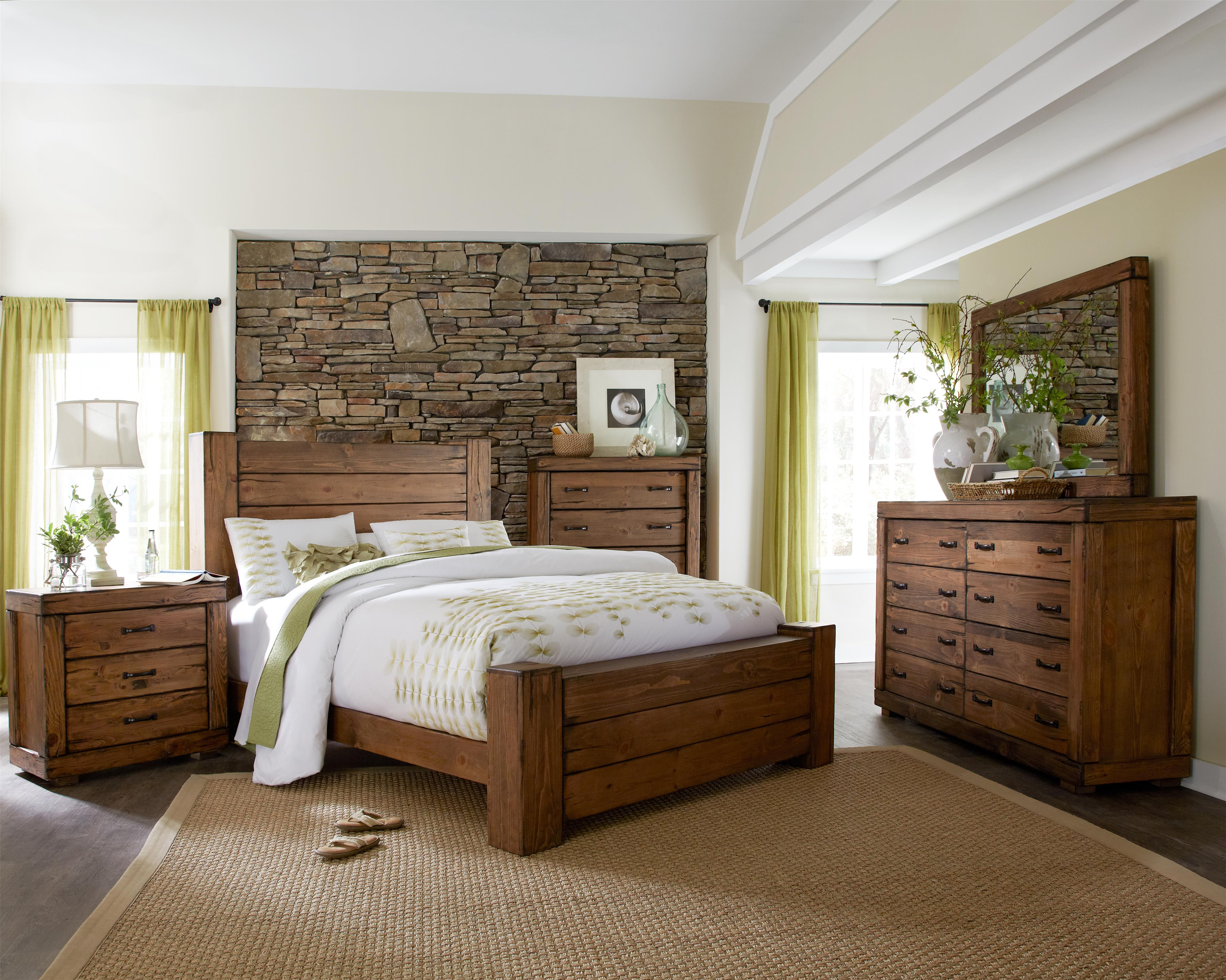 Progressive Furniture Maverick California King Bedroom Group - Item Number: P626 CK Bedroom Group 1