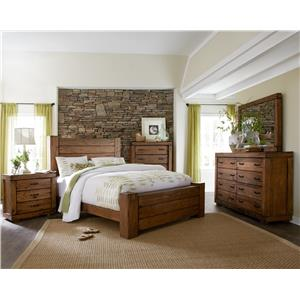 Progressive Furniture Maverick Queen Bedroom Group