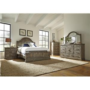Progressive Furniture Meadow King Bedroom Group