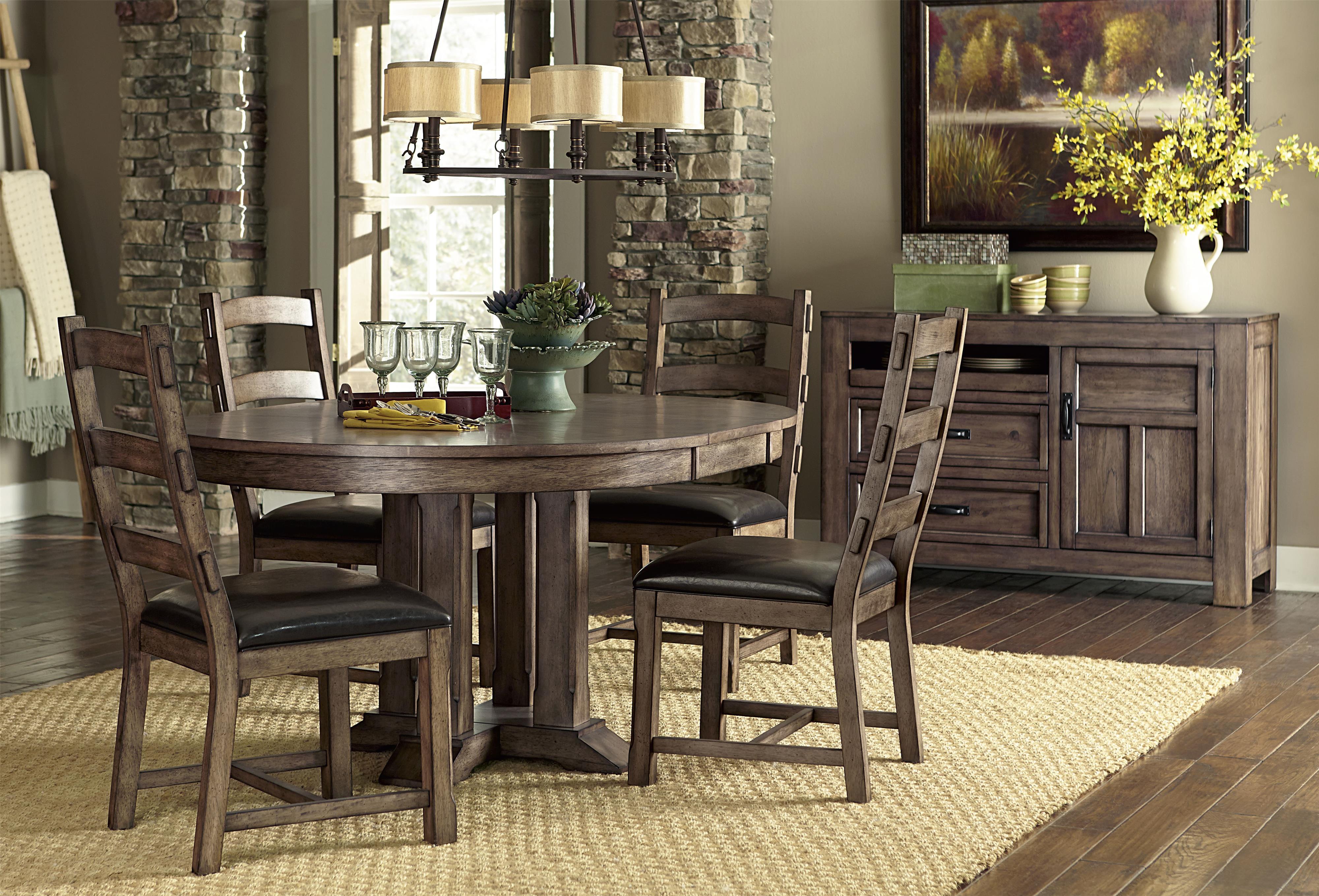 Progressive Furniture Boulder Creek Casual Dining Room Group - Item Number: P849 Dining Room Group 1