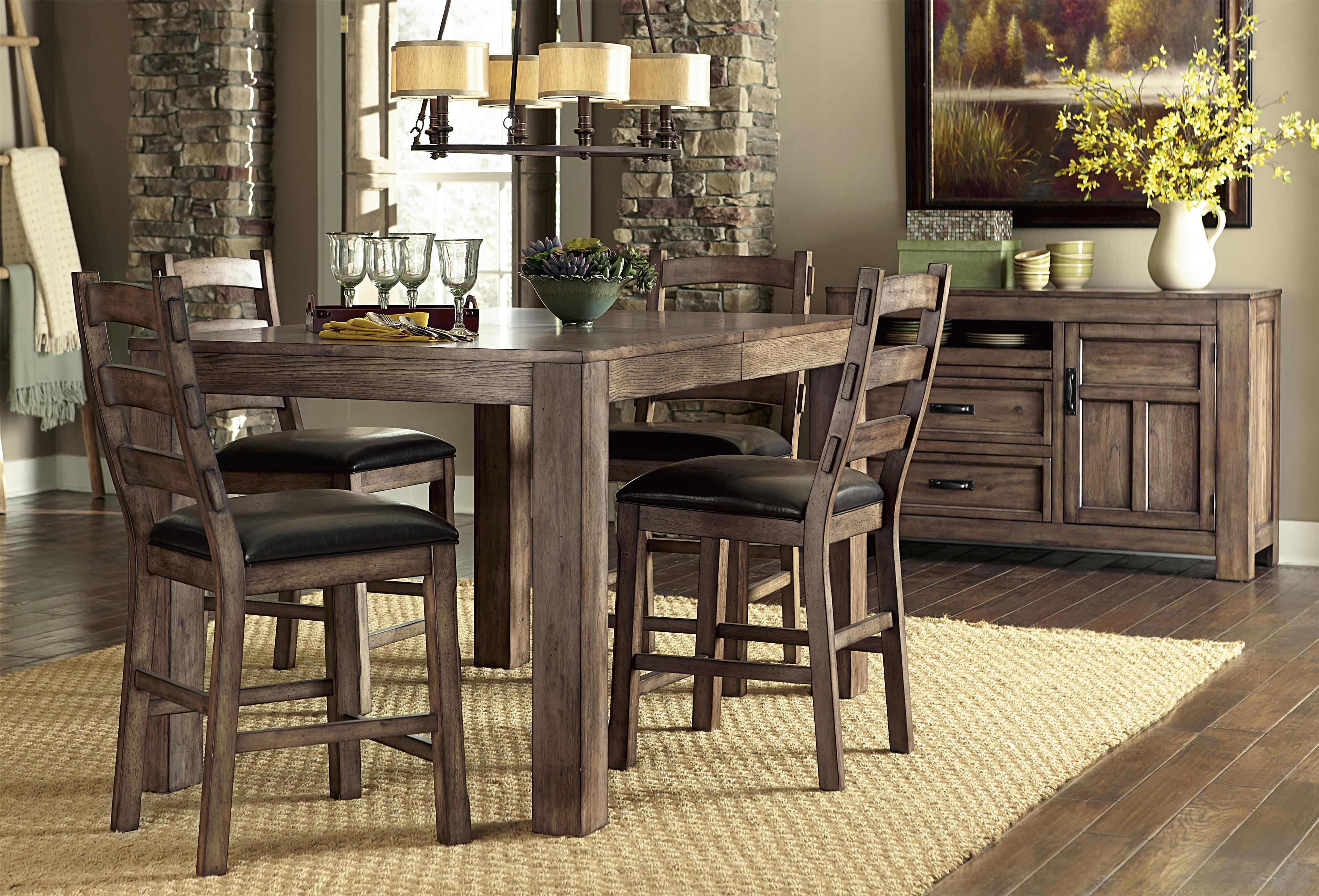 Progressive Furniture Boulder Creek Casual Dining Room Group - Item Number: P849 Dining Room Group 2