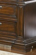 Stacked Mouldings and Framed Drawer Fronts