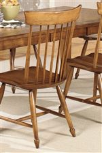 Duxbury Style Side Chairs for American Colonial Design