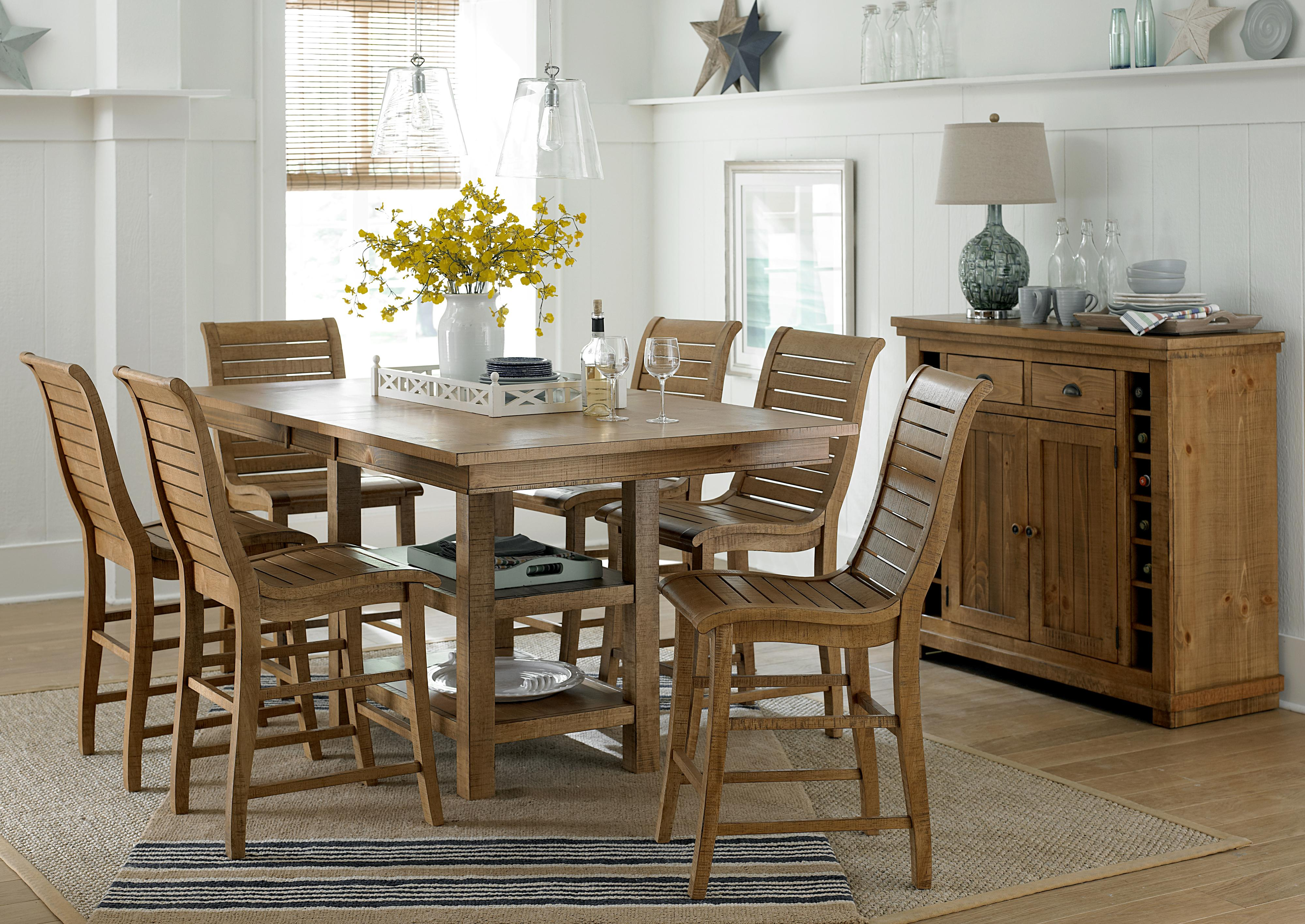 Progressive Furniture Willow Dining Formal Dining Room