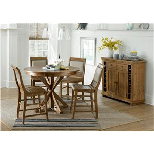 Progressive Furniture Willow Dining Casual Dining Room Group