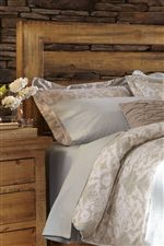 Wide Plank Slat Headboard