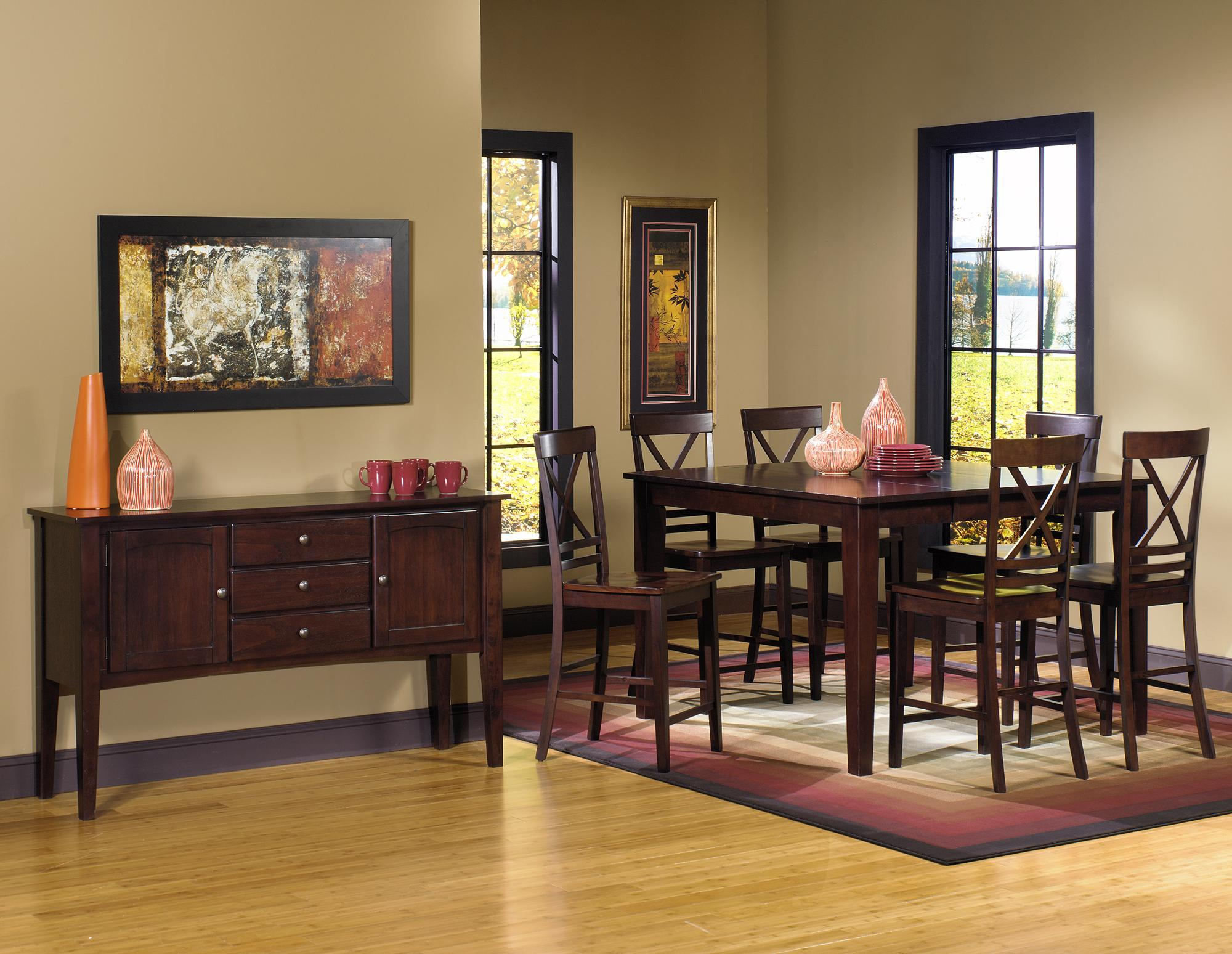 Progressive furniture winston casual dining room group for Casual dining room