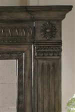Decorative Molding with Rosette Designs
