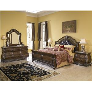 Pulaski Furniture Birkhaven Queen Bedroom Group