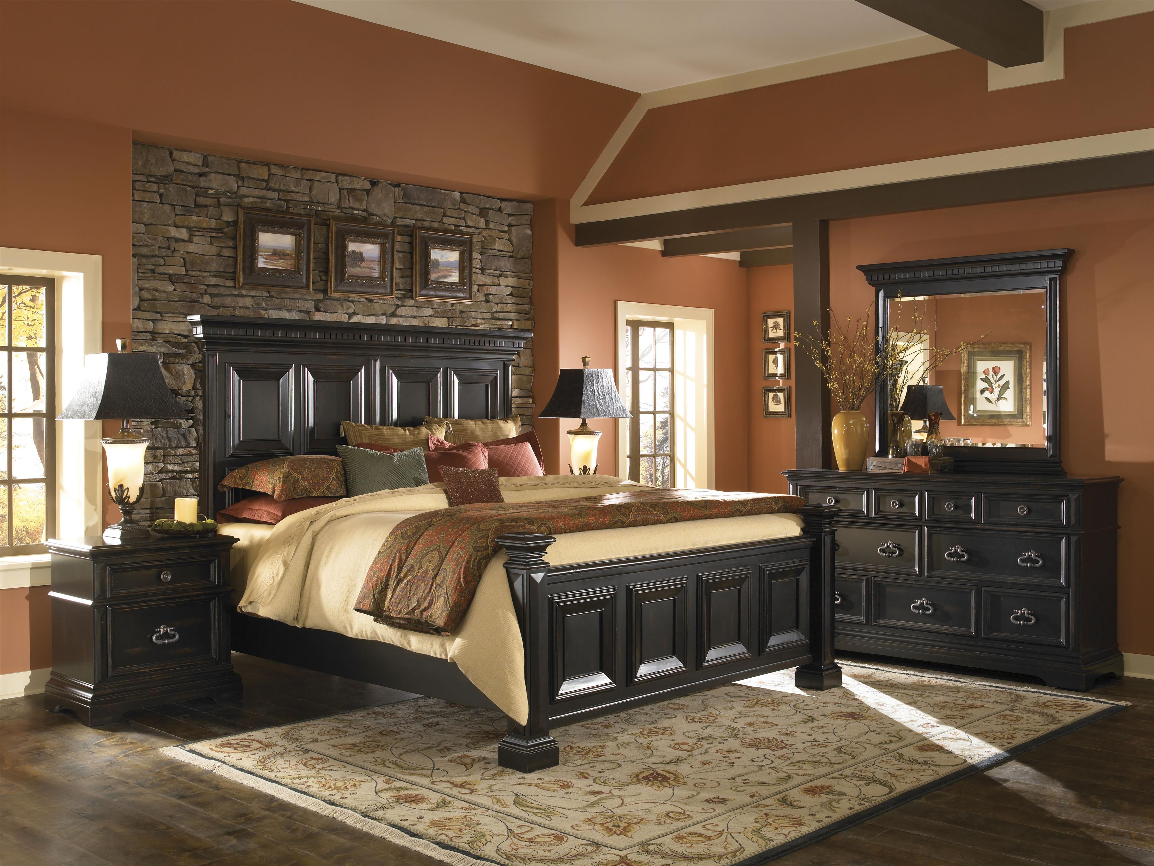 Pulaski Furniture Brookfield Queen Bedroom Group - Item Number: 993 Q Bedroom Group 1