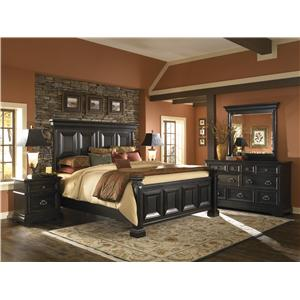Pulaski Furniture Brookfield California King Bedroom Group
