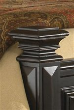 Ornamental Capitals on Bedposts