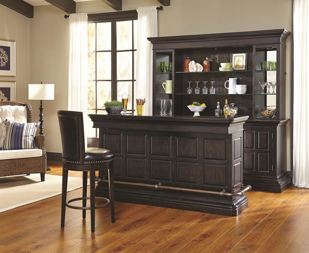 Pulaski Living Room Furniture Pulaski Furniture Burton Traditional Bar With Granite Top