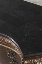 Black Marble-Like Top