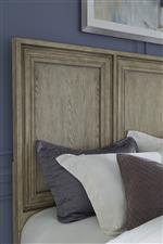 Pulaski Furniture Park Place Queen Panel Bed with Framed Molding Detail