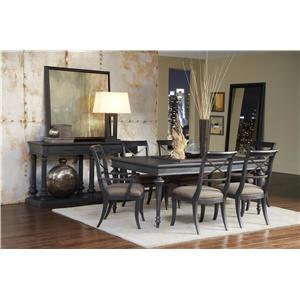 Pulaski Furniture Vintage Tempo Formal Dining Room Group
