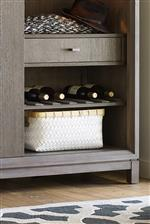 Reversible Wine Bottle Shelves Accommodate Your Storage Needs