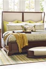 Upholstered Sheltered Bed Headboard