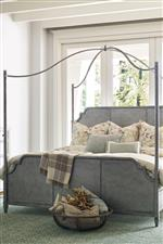 Metal Canopy Bed Footboard
