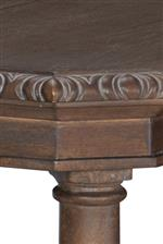 Carved Moulding Adds Beautiful Detail