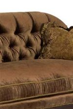 Tight and Rounded Tufted Back