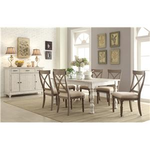 Riverside Furniture Aberdeen Dining Room Group