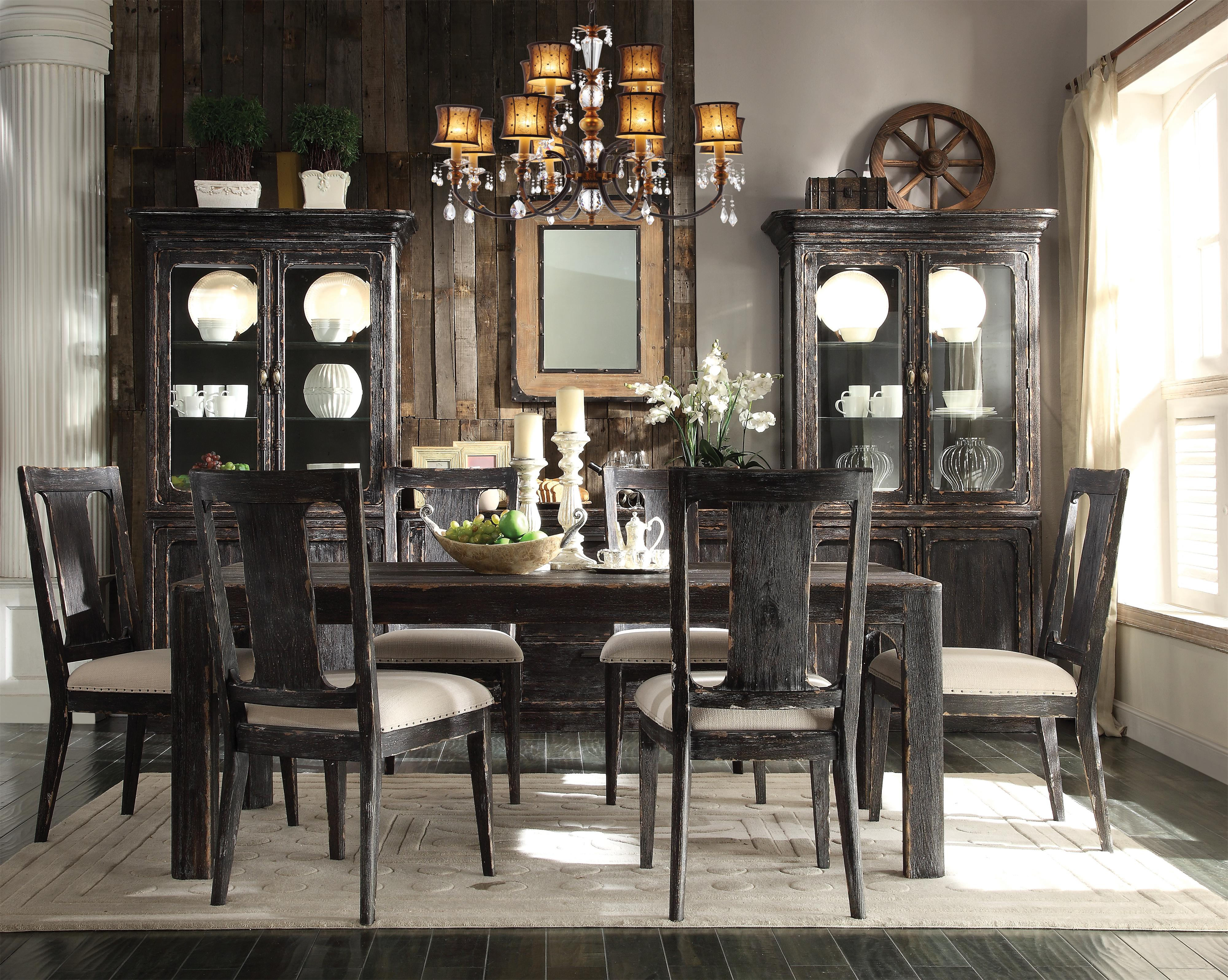 Riverside Furniture Bellagio Dining Room Group - Item Number: 118 Dining Room Group 1