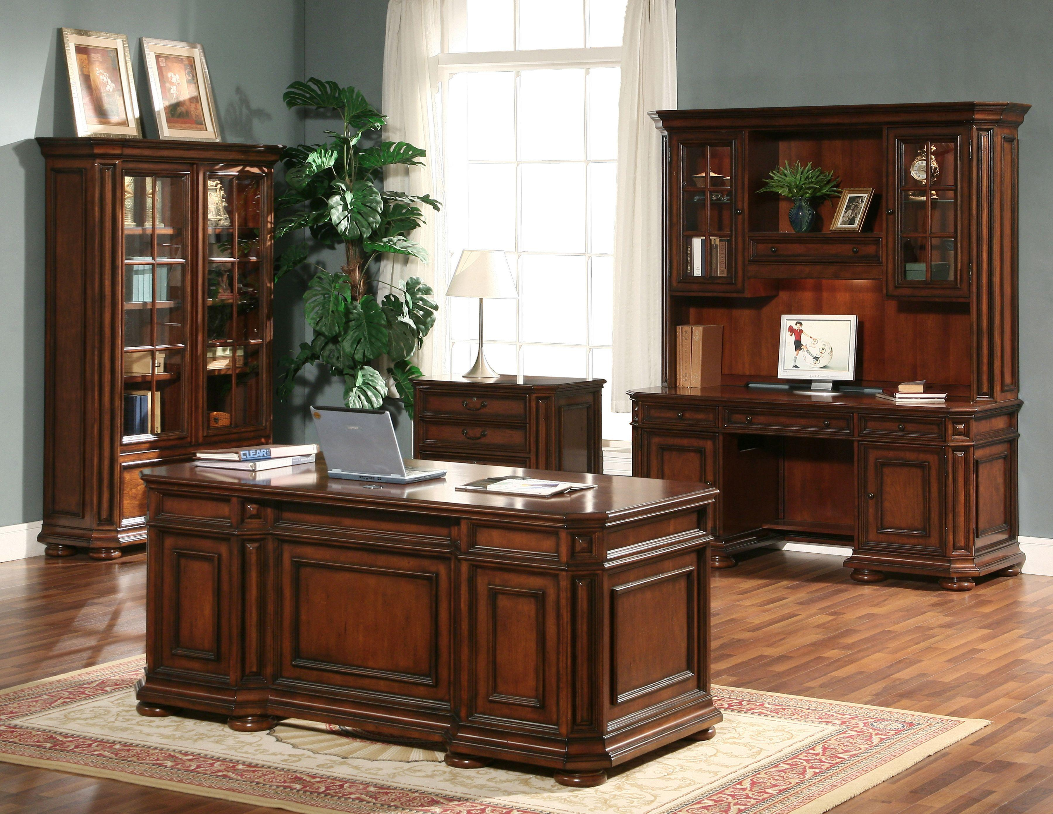 Executive desk office furniture - Riverside Furniture Cantata Executive Desk Chair With Casters Wayside Furniture Executive Desk Chair