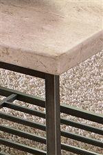 Travertine Stone Top