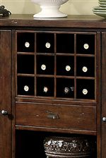 Removable Wine Rack Available in Dining Server