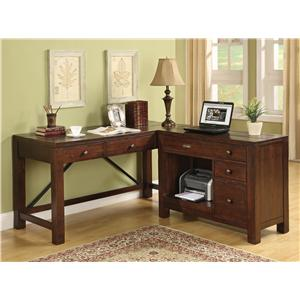 Riverside Furniture Castlewood 2 Drawer Lateral File Cabinet