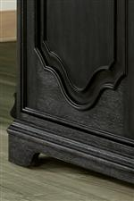 Intricate Molding and Carving Featured Throughout