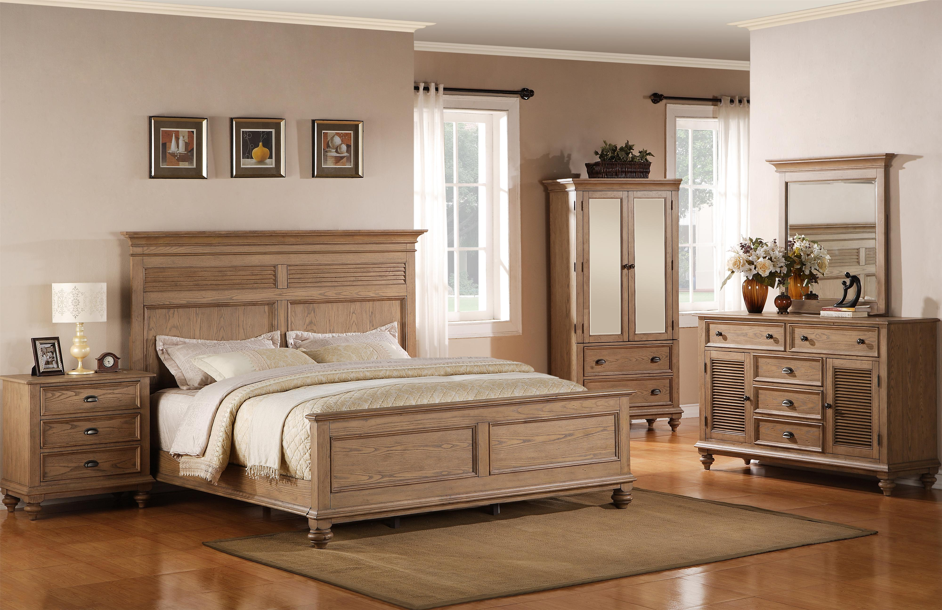 Riverside Furniture Coventry Full/Queen Bedroom Group - Item Number: 32400 F Q Bedroom Group 1