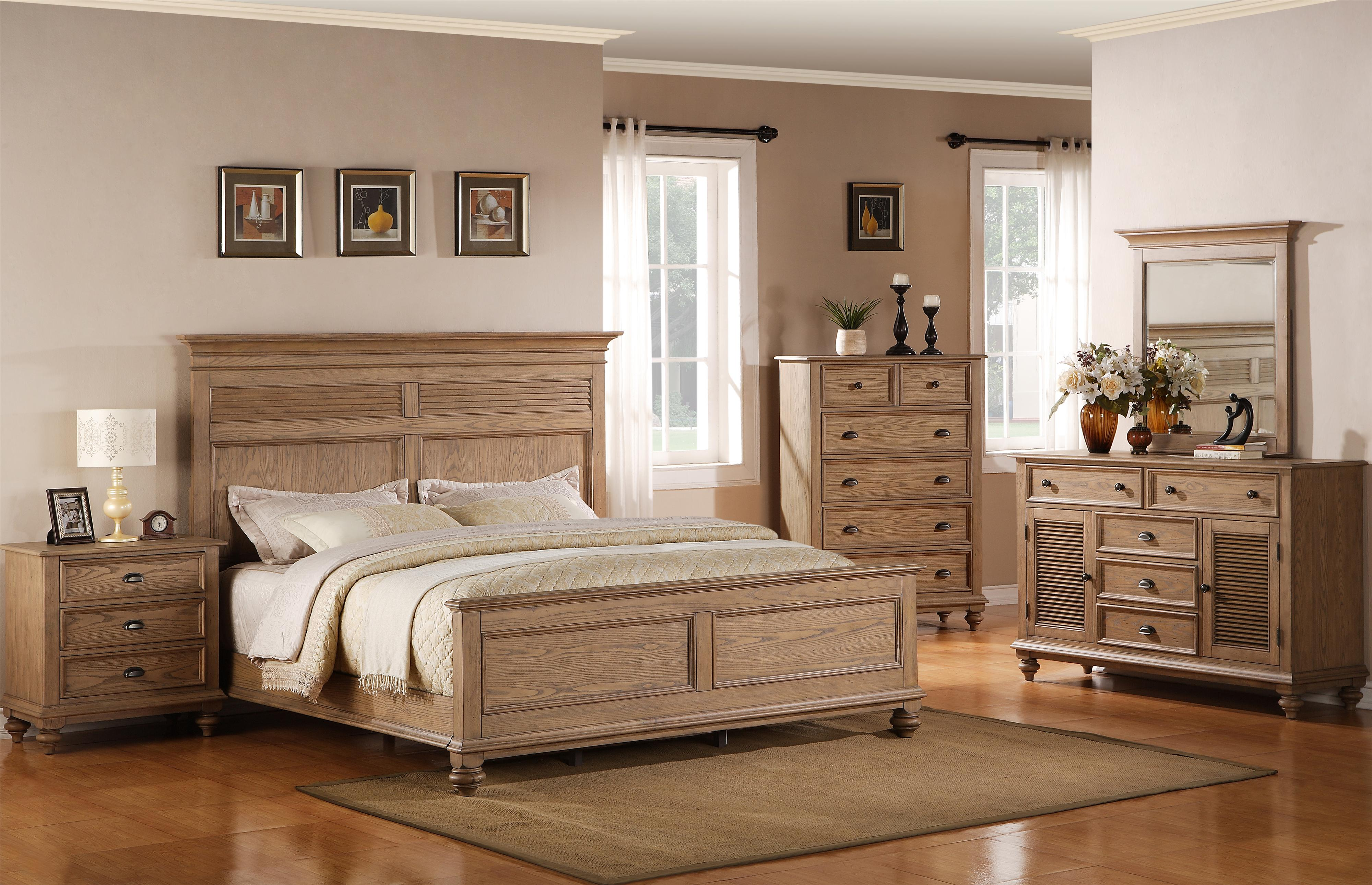 Riverside Furniture Coventry Full/Queen Bedroom Group - Item Number: 32400 F Q Bedroom Group 2