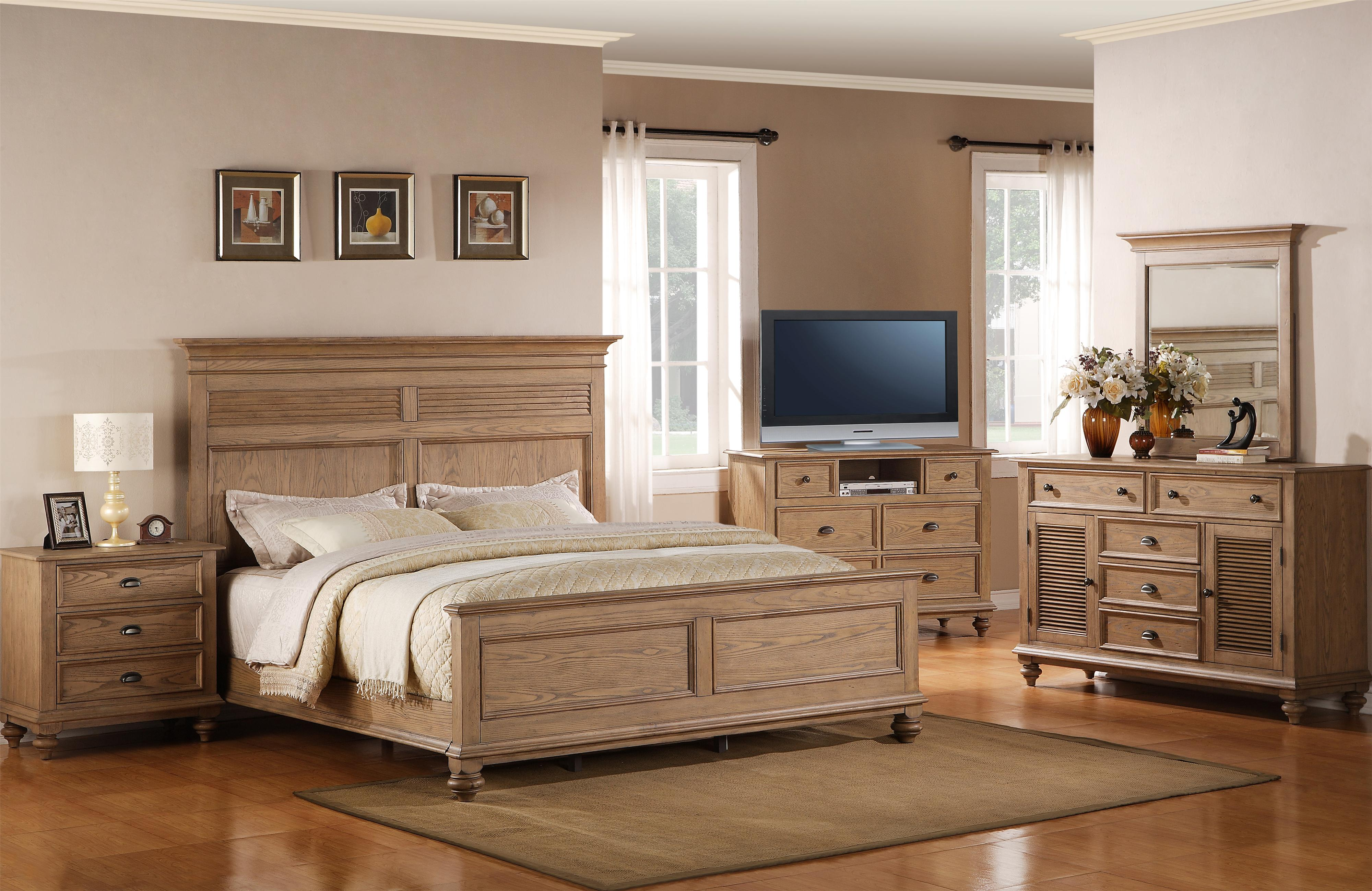 Riverside Furniture Coventry Full/Queen Bedroom Group - Item Number: 32400 F Q Bedroom Group 3