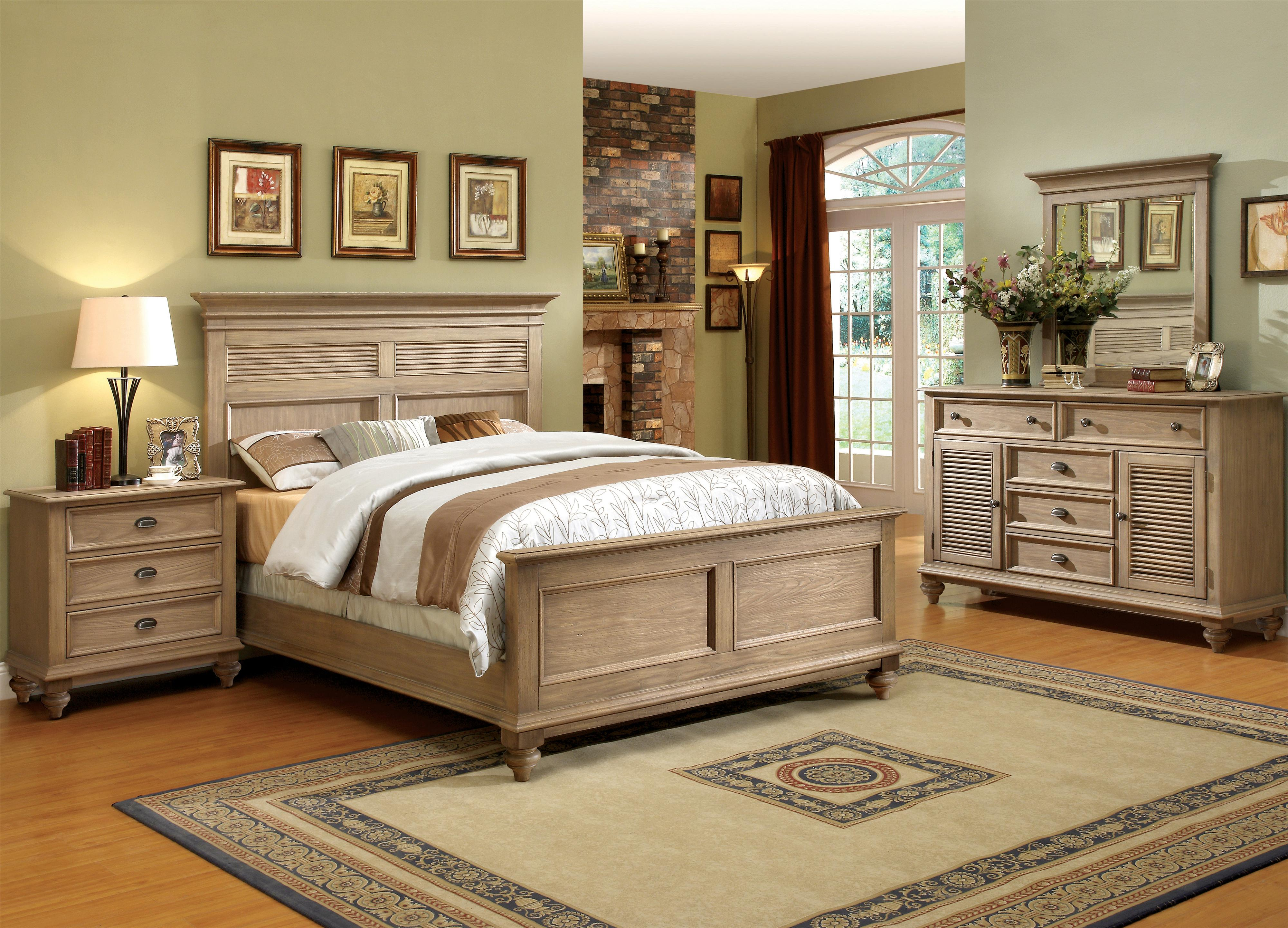 Riverside Furniture Coventry Full/Queen Bedroom Group - Item Number: 32400 F Q Bedroom Group 4