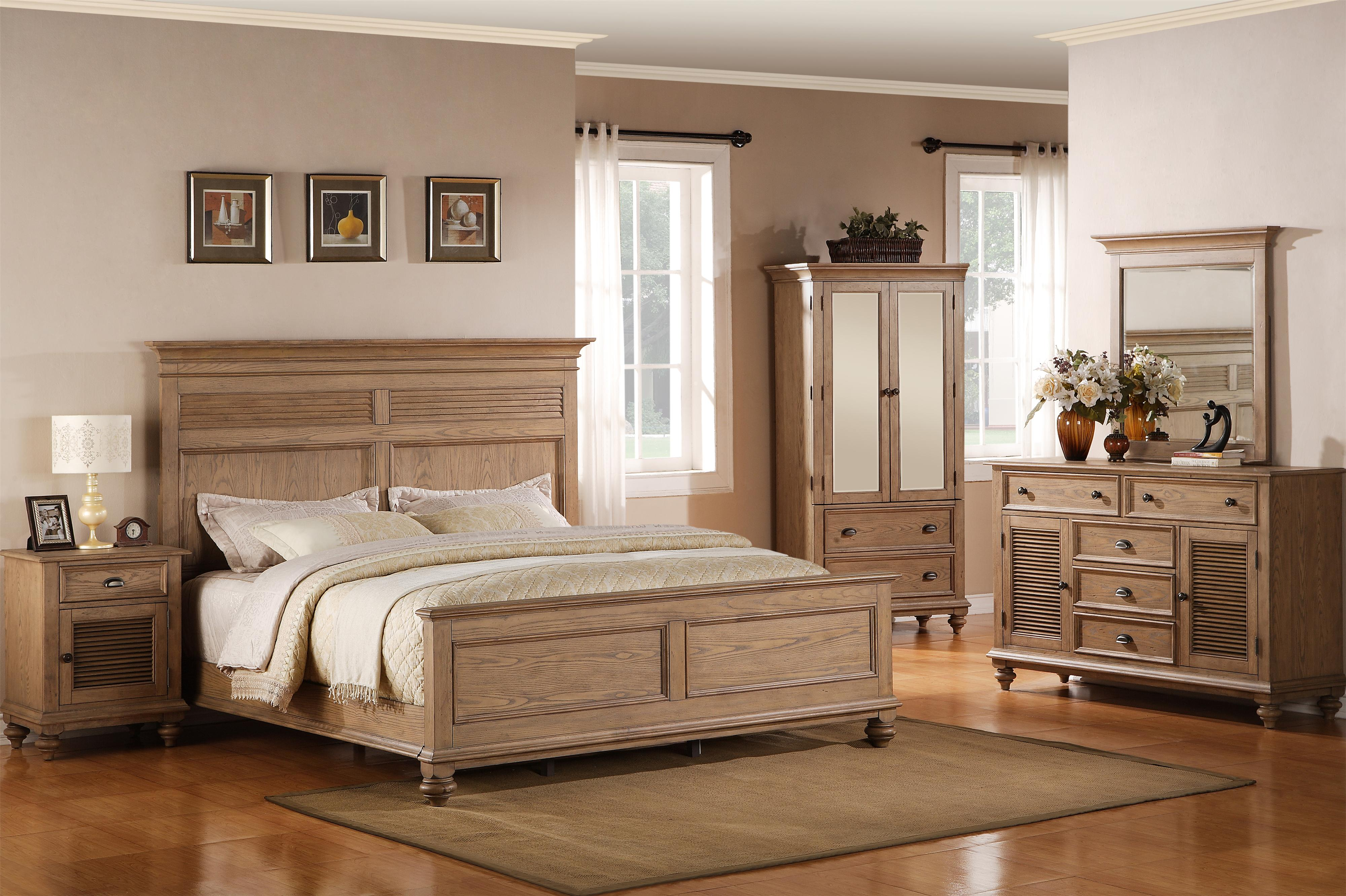 Riverside Furniture Coventry Full/Queen Bedroom Group - Item Number: 32400 F Q Bedroom Group 5